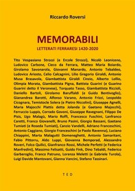 Memorabili. Letterati Ferraresi 1420-2020 - Librerie.coop