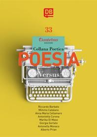 Collana Poetica Versus vol. 33 - Librerie.coop