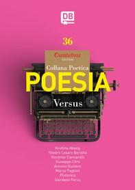 Collana Poetica Versus vol. 36 - Librerie.coop