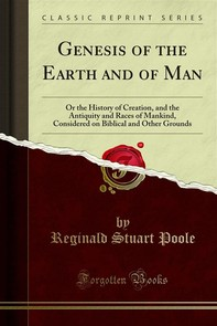 Genesis of the Earth and of Man - Librerie.coop