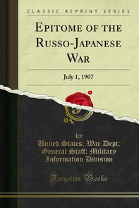 Epitome of the Russo-Japanese War - Librerie.coop