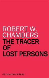 The Tracer of Lost Persons - Librerie.coop