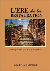 L'ère de la restauration - Librerie.coop