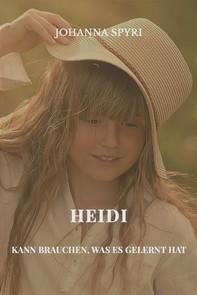 Heidi kann brauchen, was es gelernt hat - Librerie.coop