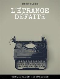 L'étrange Défaite - Librerie.coop