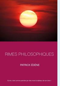 Rimes philosophiques - Librerie.coop