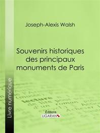 Souvenirs historiques des principaux monuments de Paris - Librerie.coop
