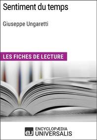 Sentiment du temps de Giuseppe Ungaretti - Librerie.coop