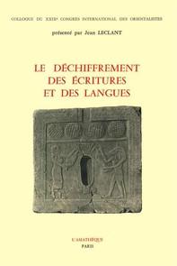 Le déchiffrement des écritures et des langues - Librerie.coop