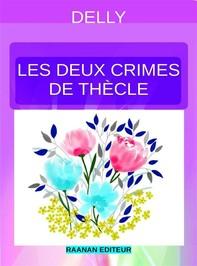 Les deux crimes de Thècle - Librerie.coop