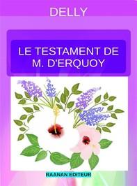 Le testament de M. d'Erquoy - Librerie.coop