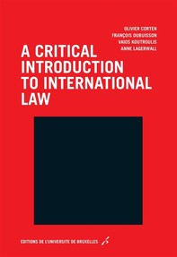 A critical introduction to international law - Librerie.coop