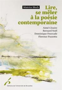 Lire, se mêler à la poésie contemporaine. - Librerie.coop