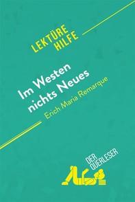 Im Westen nichts Neues von Erich Maria Remarque (Lektürehilfe) - Librerie.coop