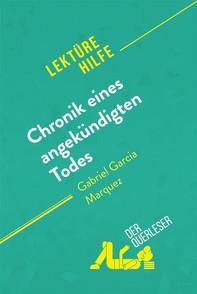 Chronik eines angekündigten Todes von Gabriel García Márquez (Lektürehilfe) - Librerie.coop