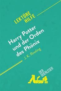 Harry Potter und der Orden des Phönix von J. K. Rowling (Lektürehilfe) - Librerie.coop