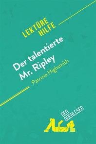 Der talentierte Mr. Ripley von Patricia Highsmith (Lektürehilfe) - Librerie.coop