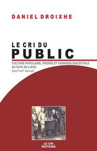Le Cri du public - Librerie.coop