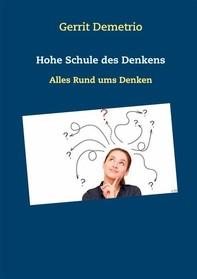 Hohe Schule des Denkens - Librerie.coop