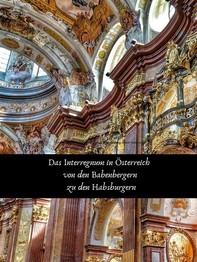 Das Interregnum in Österreich von den Babenbergern zu den Habsburgern - Librerie.coop
