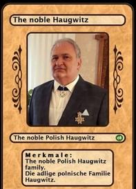 The noble Polish Haugwitz family. Die adlige polnische Familie Haugwitz. - Librerie.coop