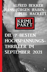 Die besten 7 Hochspannungs-Thriller im September 2021: Krimi Paket - Librerie.coop