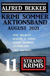 Krimi Sommer Aktionsband August 2021: 11 Strand Krimis - Librerie.coop