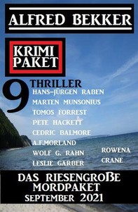 Das riesengroße Mordpaket September 2021: Krimi Paket 9 Thriller - Librerie.coop