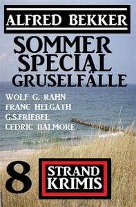 Sommer Special Gruselfälle: 8 Strand Krimis - Librerie.coop