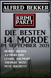 Die besten 14 Morde im September 2021: Krimi Paket - Librerie.coop