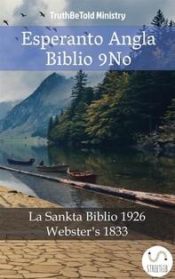 Esperanto Angla Biblio 9No - Librerie.coop