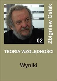 Teoria Względności - Wyniki - Librerie.coop