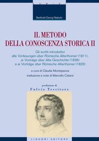 Il metodo della conoscenza storica II - Librerie.coop