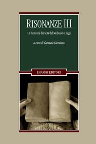 Risonanze III - Librerie.coop