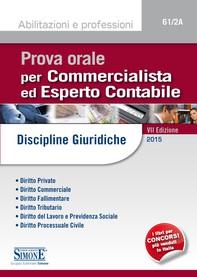Prova orale per Commercialista ed Esperto Contabile - Librerie.coop