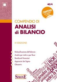 Compendio di Analisi di Bilancio - Librerie.coop