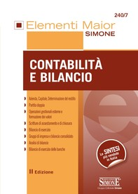 Elementi Maior di Contabilità e bilancio - Librerie.coop