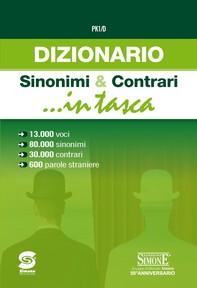 Dizionario Sinonimi & Contrari ...in tasca - Librerie.coop