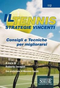 Il Tennis - Strategie vincenti - Librerie.coop