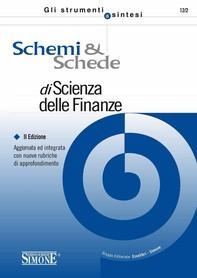 Schemi  e  Schede di Scienza delle Finanze - Librerie.coop