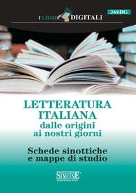 Letteratura Italiana dalle origini ai nostri giorni - Librerie.coop