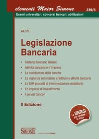 Elementi Maior di Legislazione Bancaria - Librerie.coop