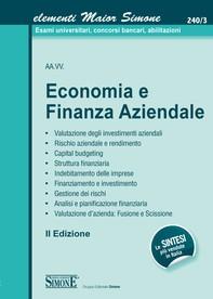 Elementi Maior di Economia e Finanza Aziendale - Librerie.coop