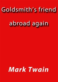 Goldsmith's friend abroad again - Librerie.coop