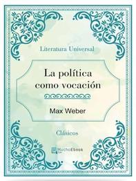 La política como vocación - Librerie.coop