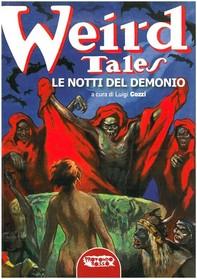 Weird Tales. Le notti del demonio - Librerie.coop