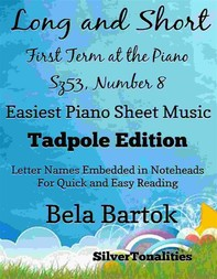 Long and Short First Term at the Piano Sz53 Number 8 Easiest Piano Sheet Music - Librerie.coop