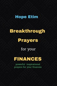 Breakthrough Prayers for Your Finances - Librerie.coop