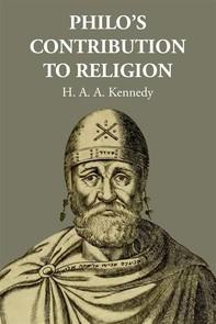 Philo's Contribution to Religion - Librerie.coop