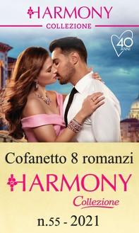 Cofanetto 8 Harmony Collezione n.55/2021 - Librerie.coop